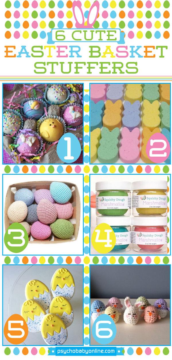 6 cute easter basket stuffer ideas psychobaby 6 cute easter basket stuffer ideas negle Images